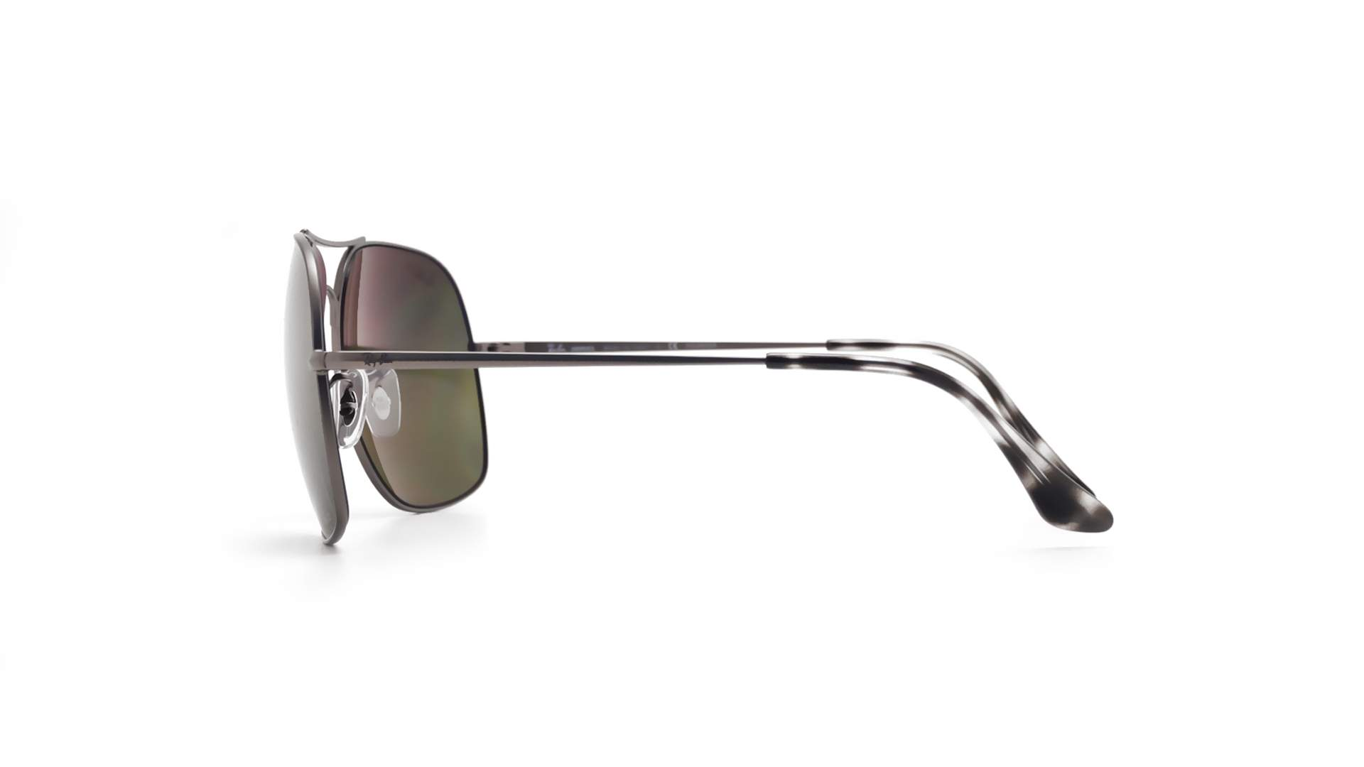 8fec7d060c1 Sunglasses Ray-Ban RB3587CH 029 6O 61-15 Silver Matte Chromance Large  Polarized Gradient Mirror
