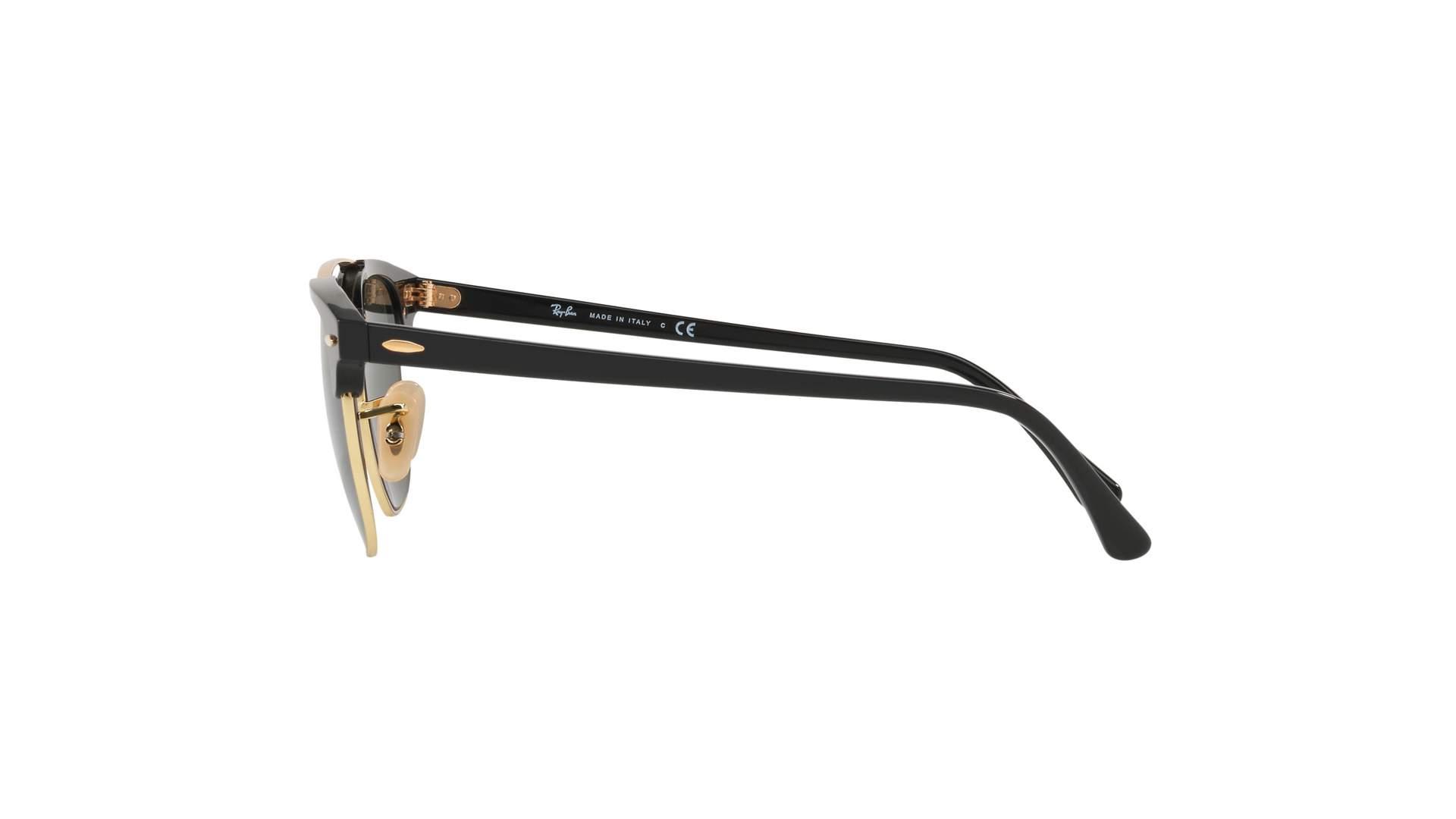8df0d6a854a53 Sunglasses Ray-Ban Clubmaster Double Bridge Black G-15 RB3816 901 51-21  Medium