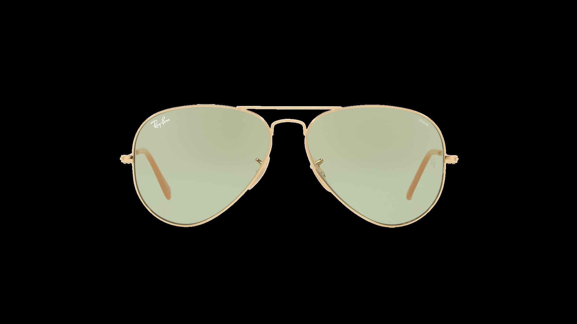 5722e8b96 Sunglasses Ray-Ban Aviator Evolve Gold RB3025 9064/4C 55-14 Small  Photochromic