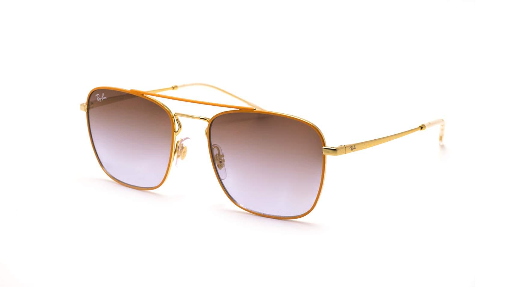 e89072caaf2 Sunglasses Ray-Ban RB3588 90612W 55-19 Orange Medium Gradient