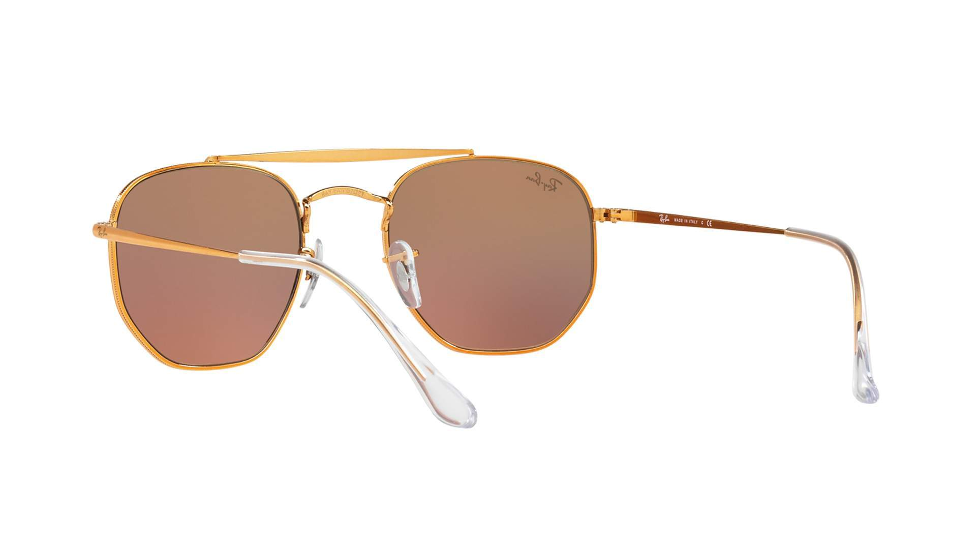 Sunglasses Ray-Ban Marshal Gold RB3648 9001 I1 54-21 Large Gradient Mirror a04a41ec62