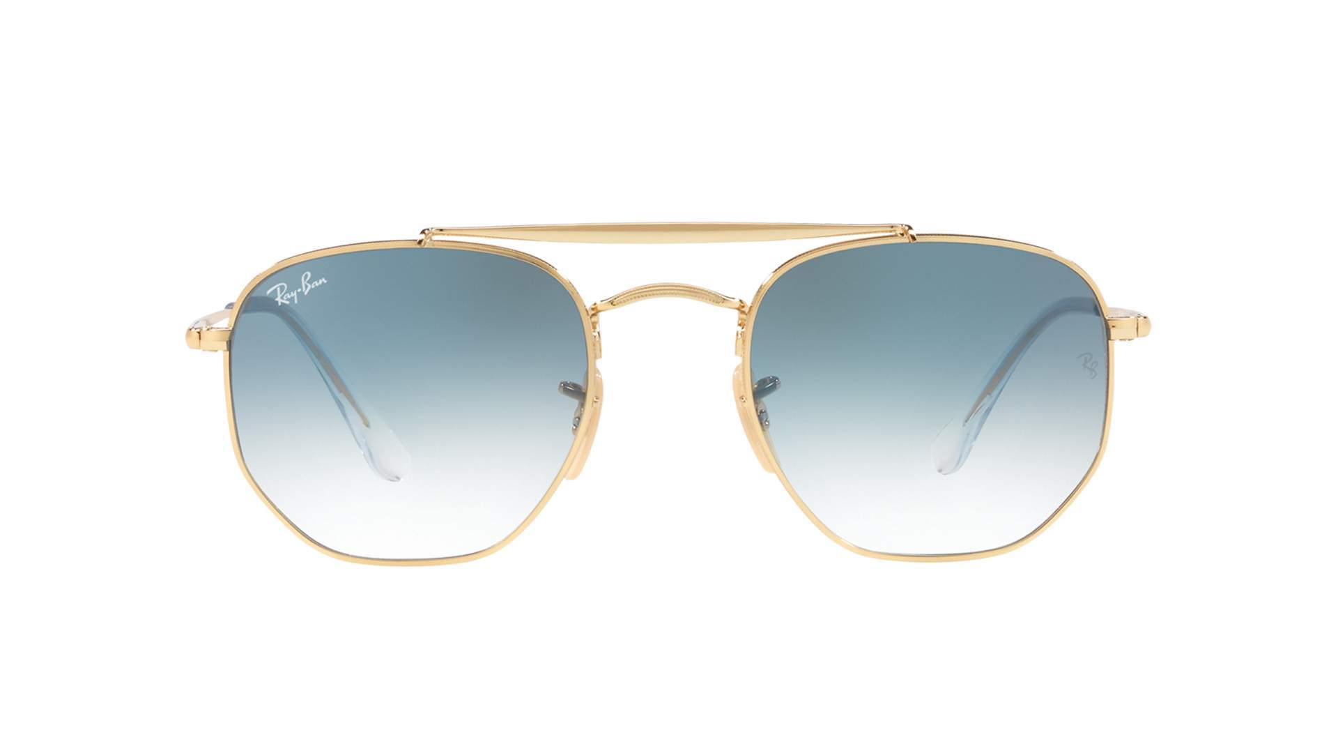 Sunglasses Ray-Ban Marshal Gold RB3648 001 3F 54-21 Large Gradient 67a3b48ac5