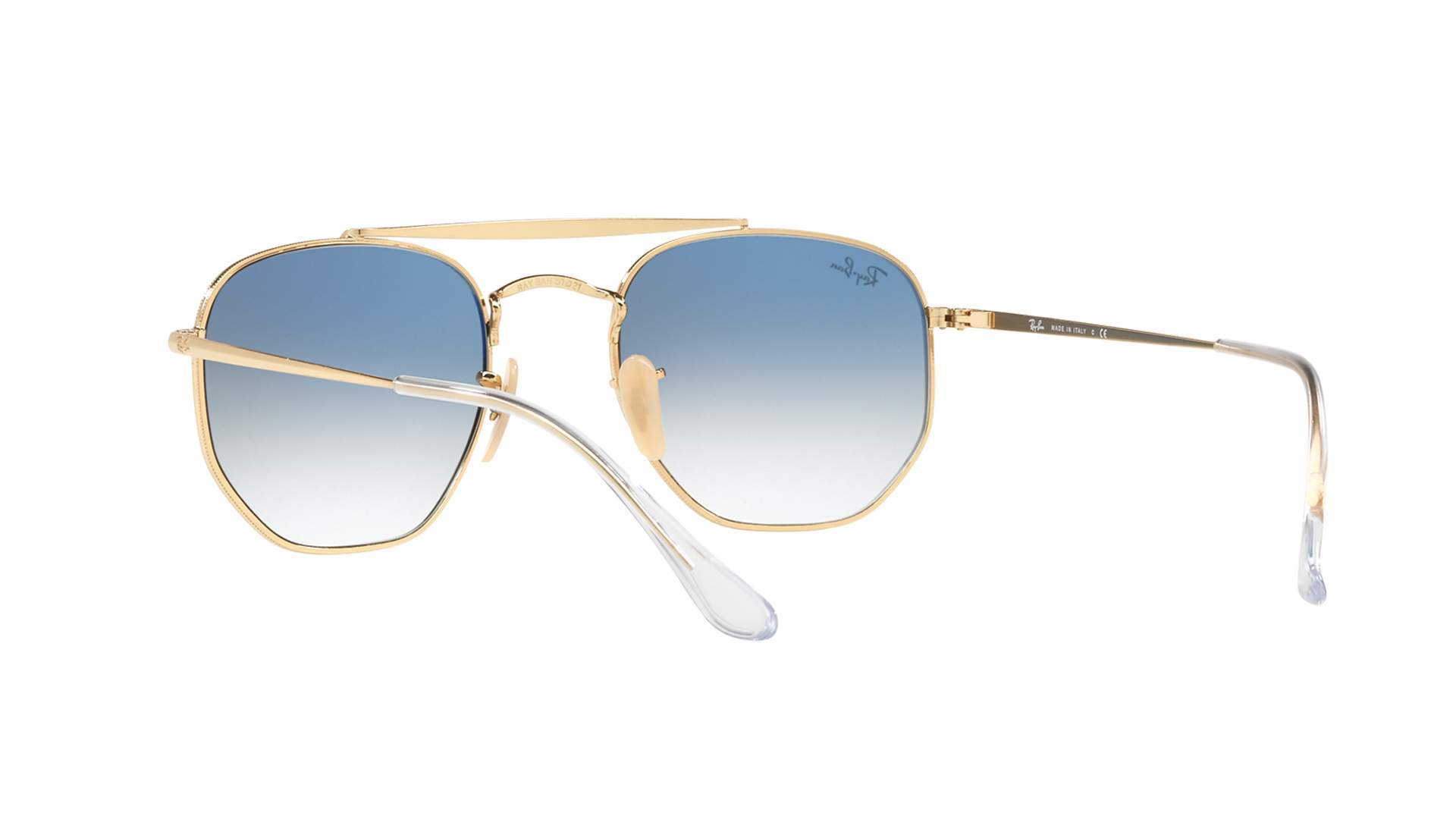 128bcad122030 Sunglasses Ray-Ban Marshal Gold RB3648 001 3F 54-21 Large Gradient