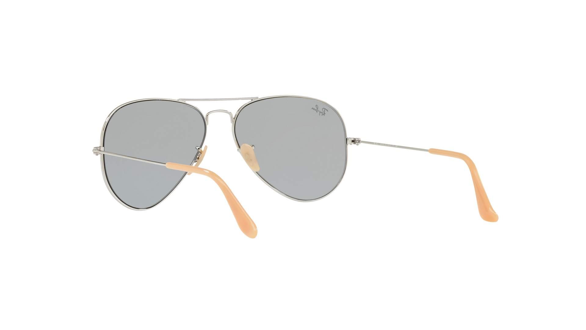 befa709c2 Sunglasses Ray-Ban Aviator Evolve Silver RB3025 9065/I5 58-14 Medium  Photochromic