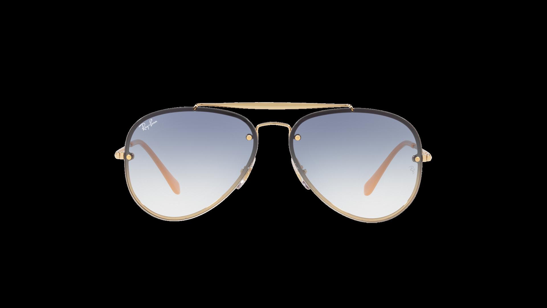11c8c70dc6718c Sunglasses Ray-Ban Aviator Blaze Gold RB3584N 001 19 61-13 Large Gradient