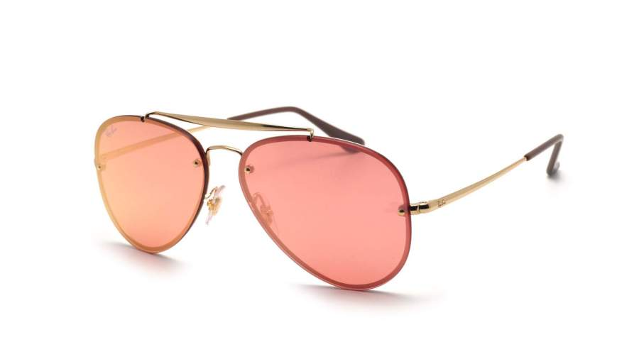 Ray-Ban RB 3584-N 9052/e4 large , Doré , Aviator