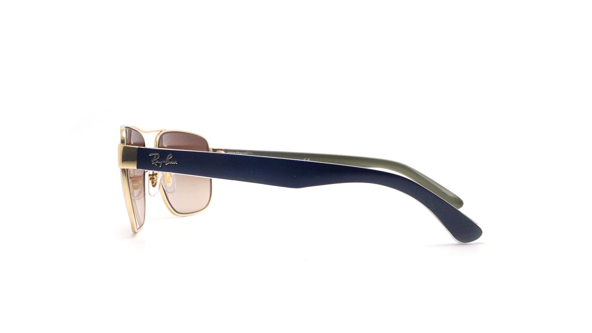 2ac34d0245e Sunglasses Ray-Ban RB3530 001 13 58-13 Gold Medium Gradient