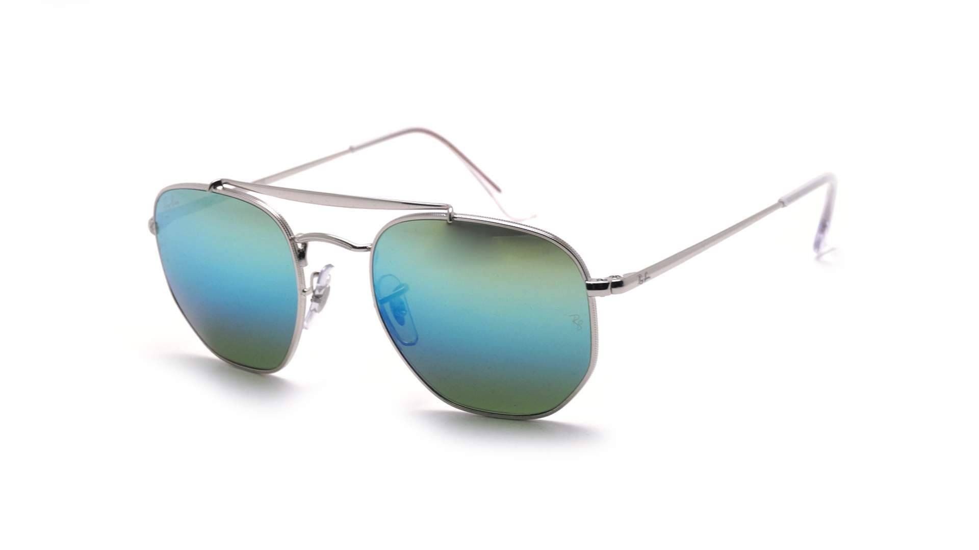 c7be339fd33 Sunglasses Ray-Ban Marshal Silver RB3648 003 I2 54-21 Large Gradient Mirror