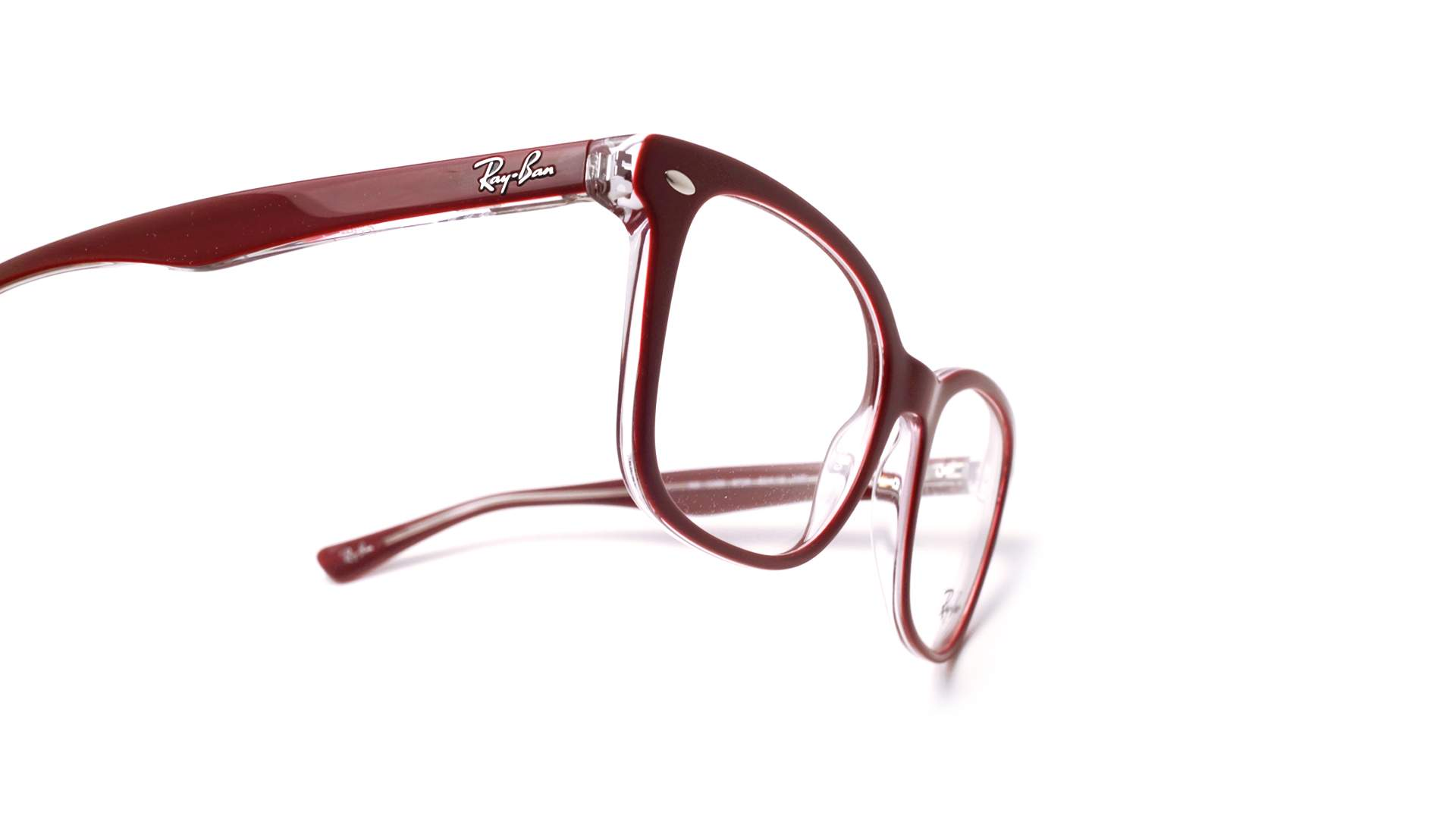 84e3ba1bc8 Eyeglasses Ray-Ban RX5285 RB5285 5738 53-19 Red Medium