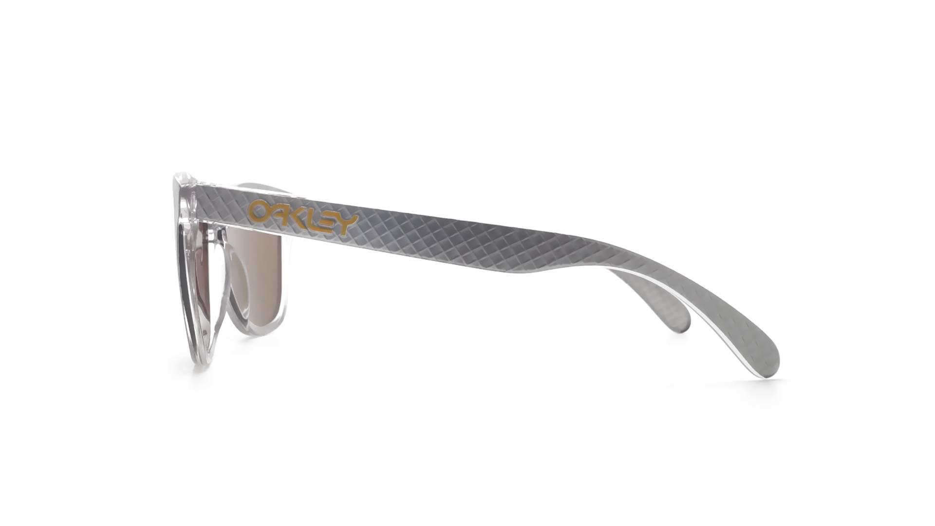 Oakley Frogskins Checkbox Silver Matte Oo9013 C1 55 17
