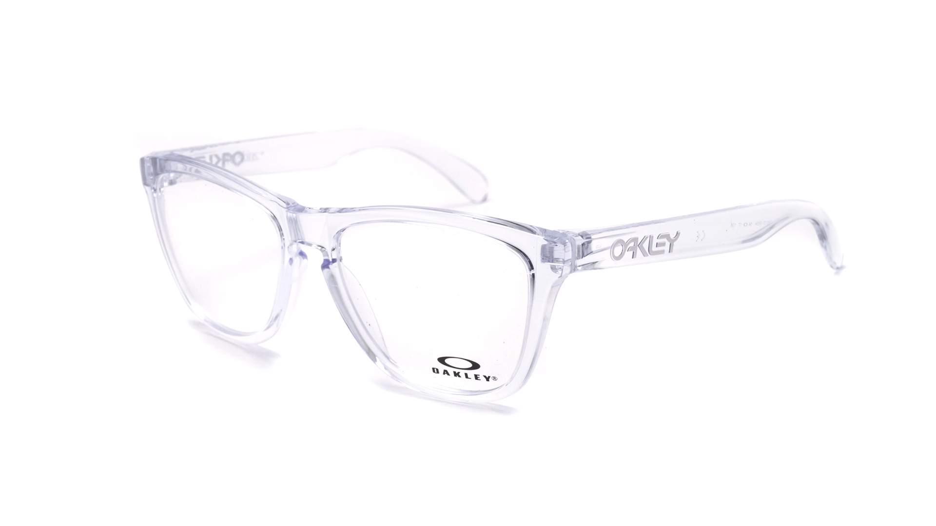 1d53de0a2c Eyeglasses Oakley Frogskins Clear OX8131 06 54-17 Medium