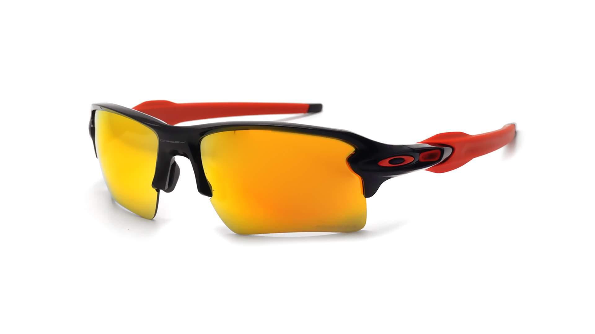 aecd707bf2021 Sunglasses Oakley Flak Jacket 2.0 xl Black Prizm OO9188 80 59-12 Large  Mirror