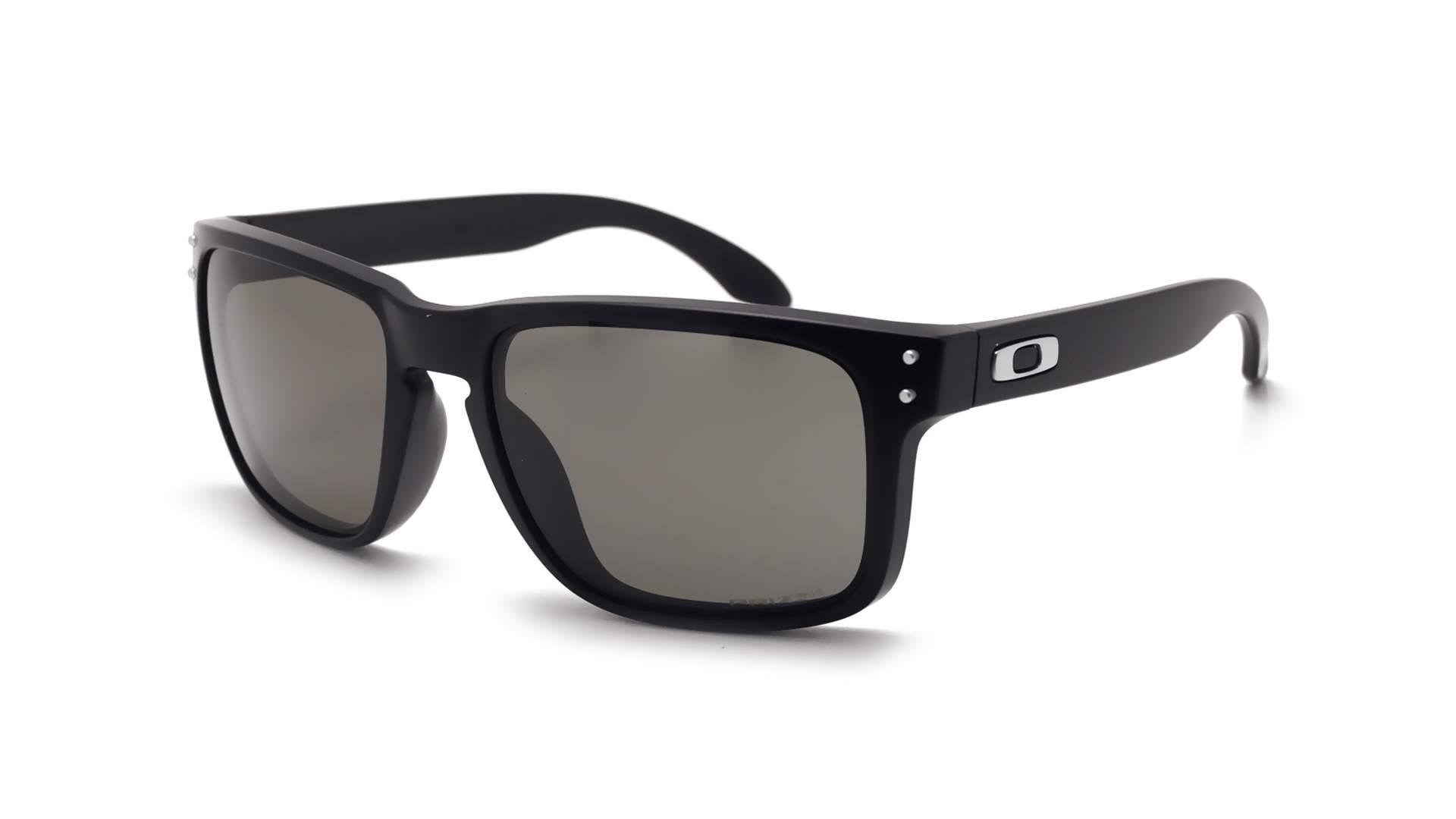 1b5c4aa2f Sunglasses Oakley Holbrook Black Matte Prizm OO9102 E8 55-18 Medium