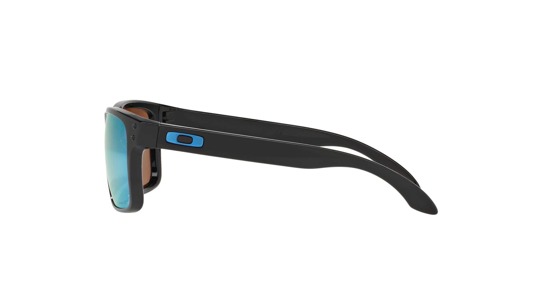 6ff435aaa5 Sunglasses Oakley Holbrook Black Prizm OO9102 C1 55-18 Large Polarized  Mirror