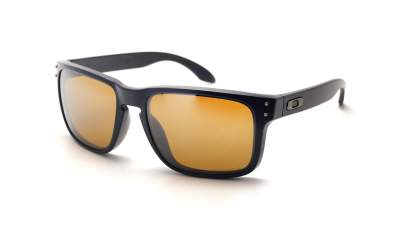 66703f42e0 Sunglasses Oakley Holbrook Black Matte Prizm OO9102 D7 55-18 Large Polarized