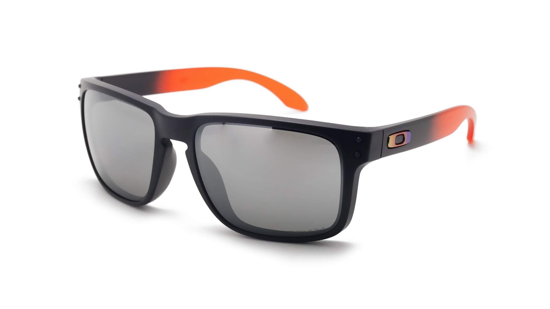 a9919d3f87 Sunglasses Oakley Holbrook Black Matte Prizm OO9102 D3 55-18 Large  Polarized Mirror