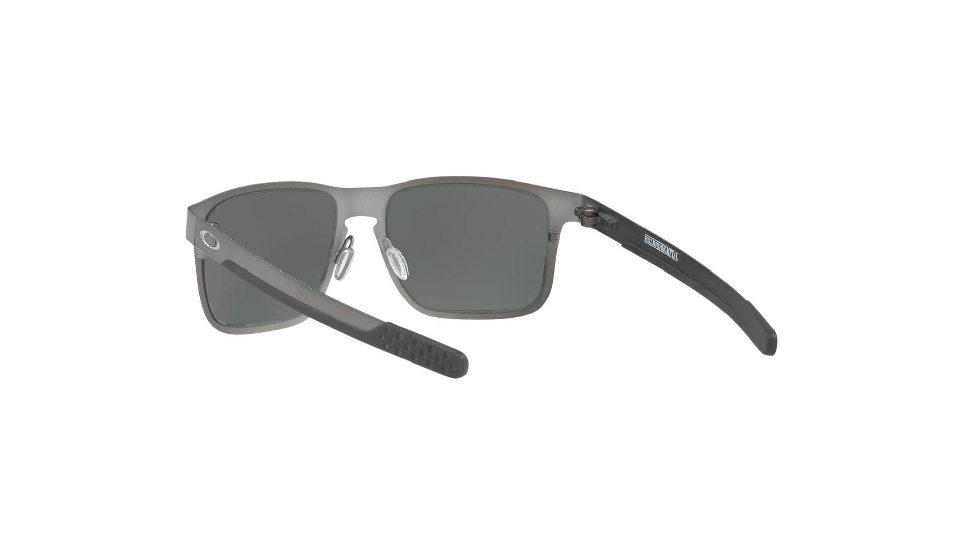 675a0c66d6884 Sunglasses Oakley Holbrook Metal Grey Matte Prizm OO4123 06 55-18 Medium  Polarized Mirror
