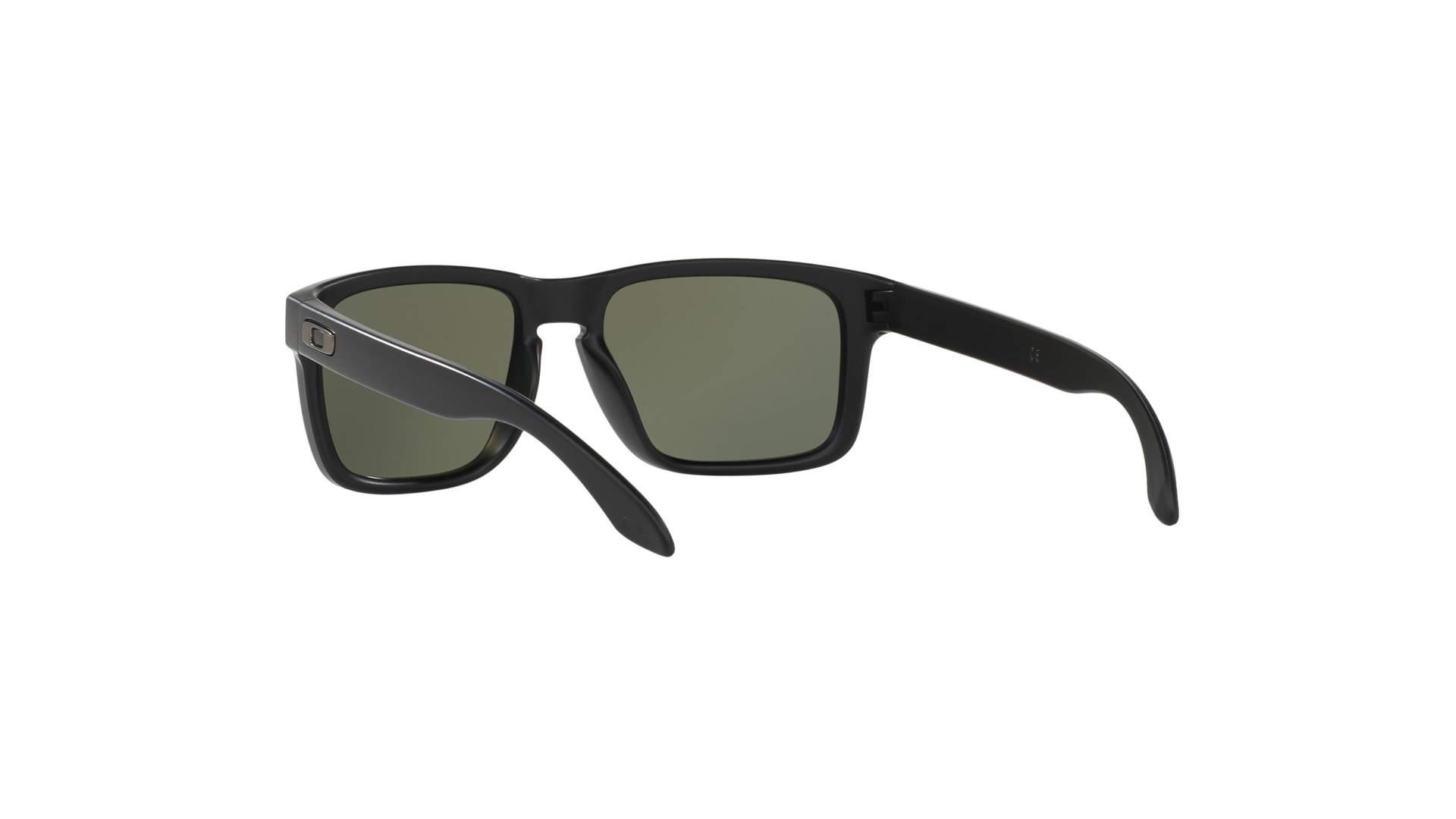 61010d88b1 Sunglasses Oakley Holbrook Black Matte OO9102 D6 55-18 Large Polarized
