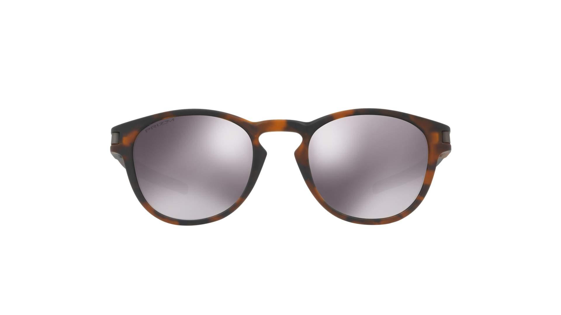 55a20603e3c69 Sunglasses Oakley Latch Tortoise Matte Prizm OO9265 22 53-21 Medium Mirror