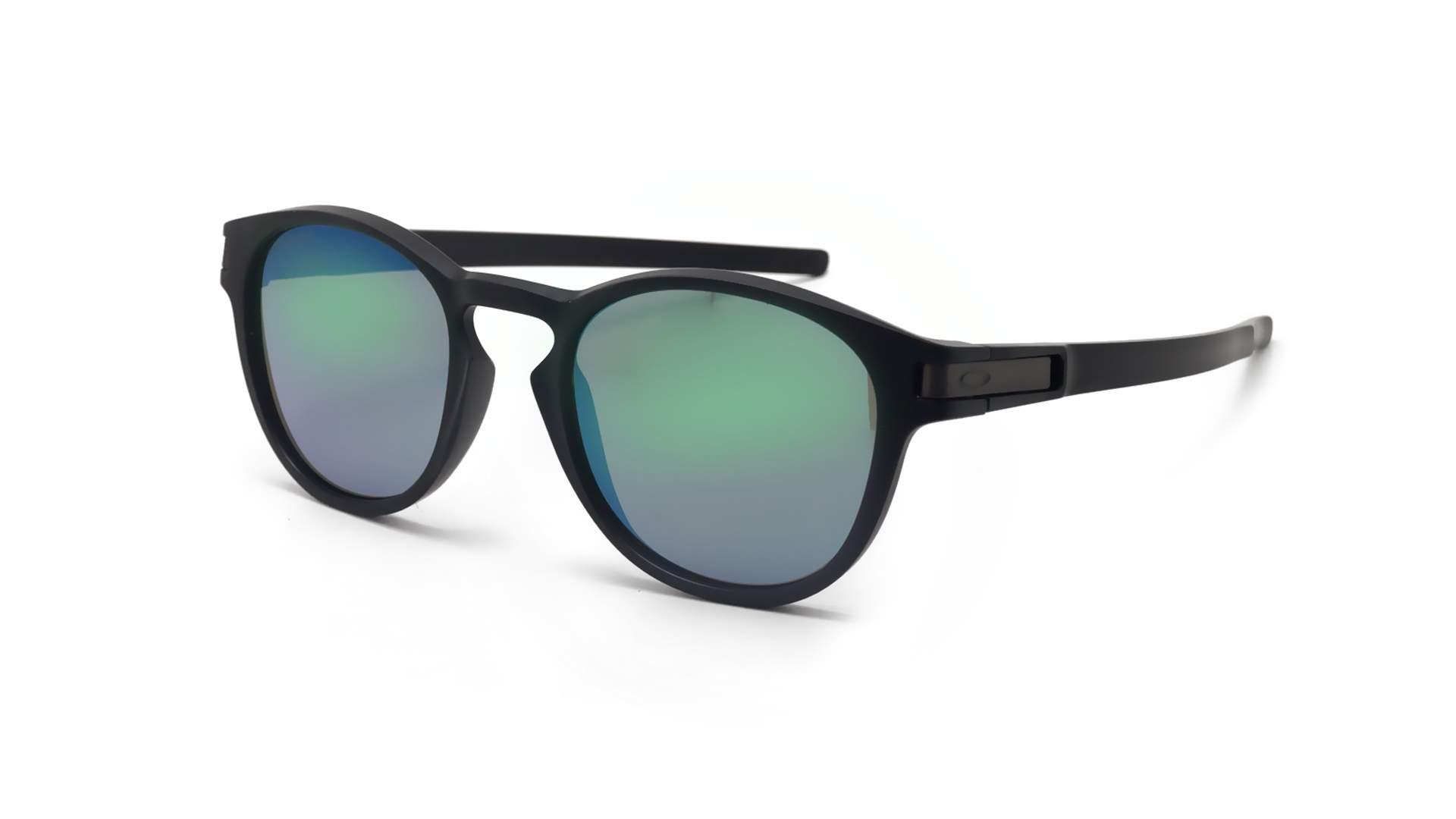 ab28b9d5a38 Sunglasses Oakley Latch Jade iridium Black Matte Prizm OO9265 28 53-21  Medium Mirror