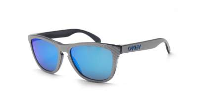 65060c7b7a Sunglasses Oakley Frogskins Checkbox Silver Matte Prizm OO9013 C0 55-17  Medium Mirror