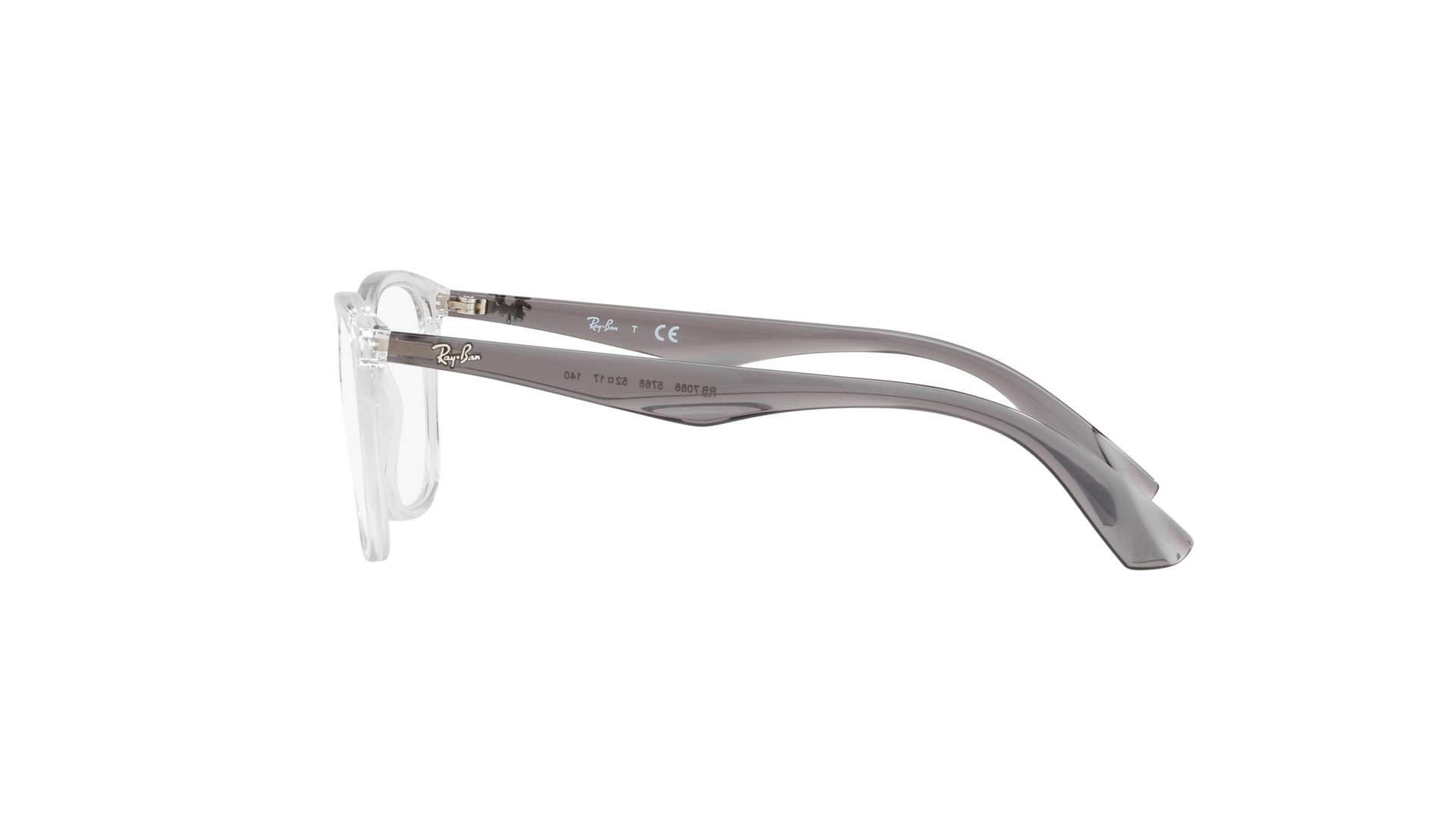 f8271ba8e4d Eyeglasses Ray-Ban RX7066 RB7066 5768 52-17 Clear Medium