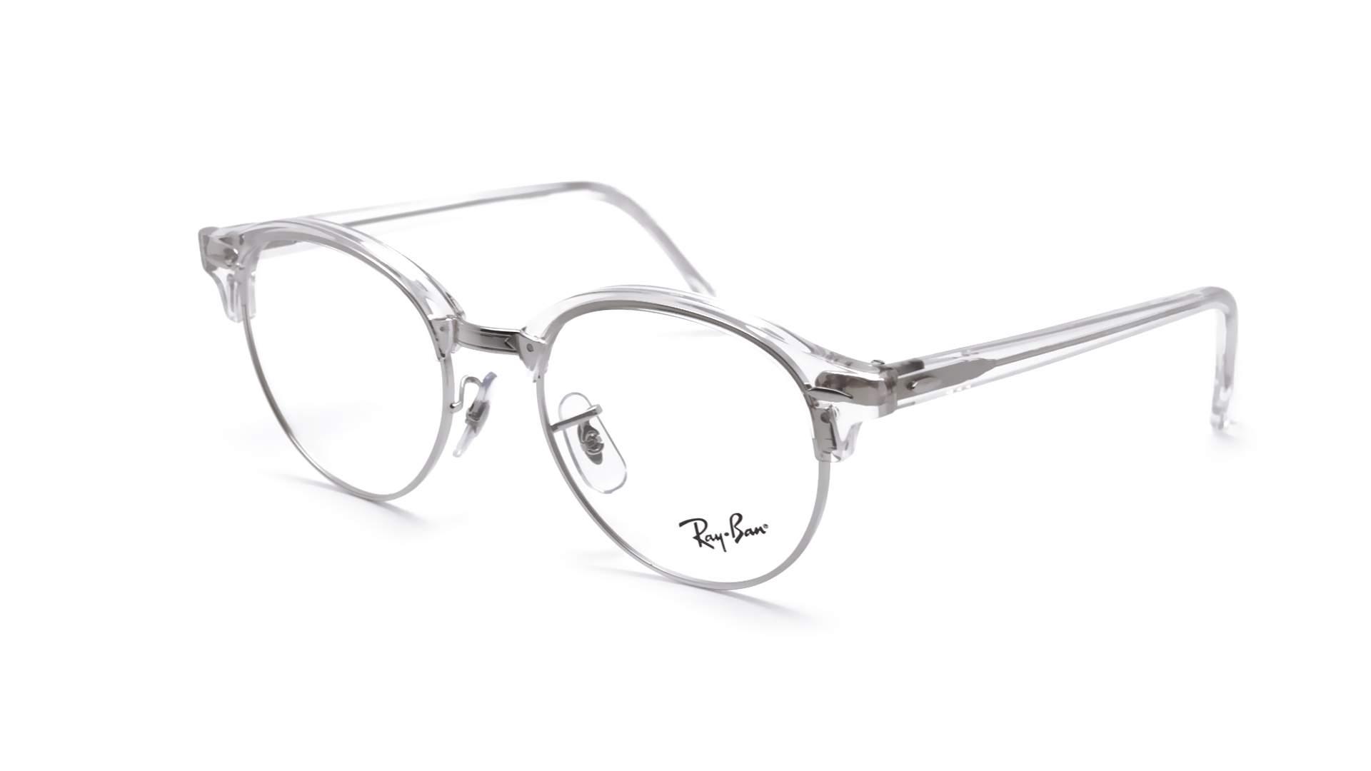72e67eeab7 Eyeglasses Ray-Ban Clubround Silver RX4246 RB4246V 2001 49-19 Medium