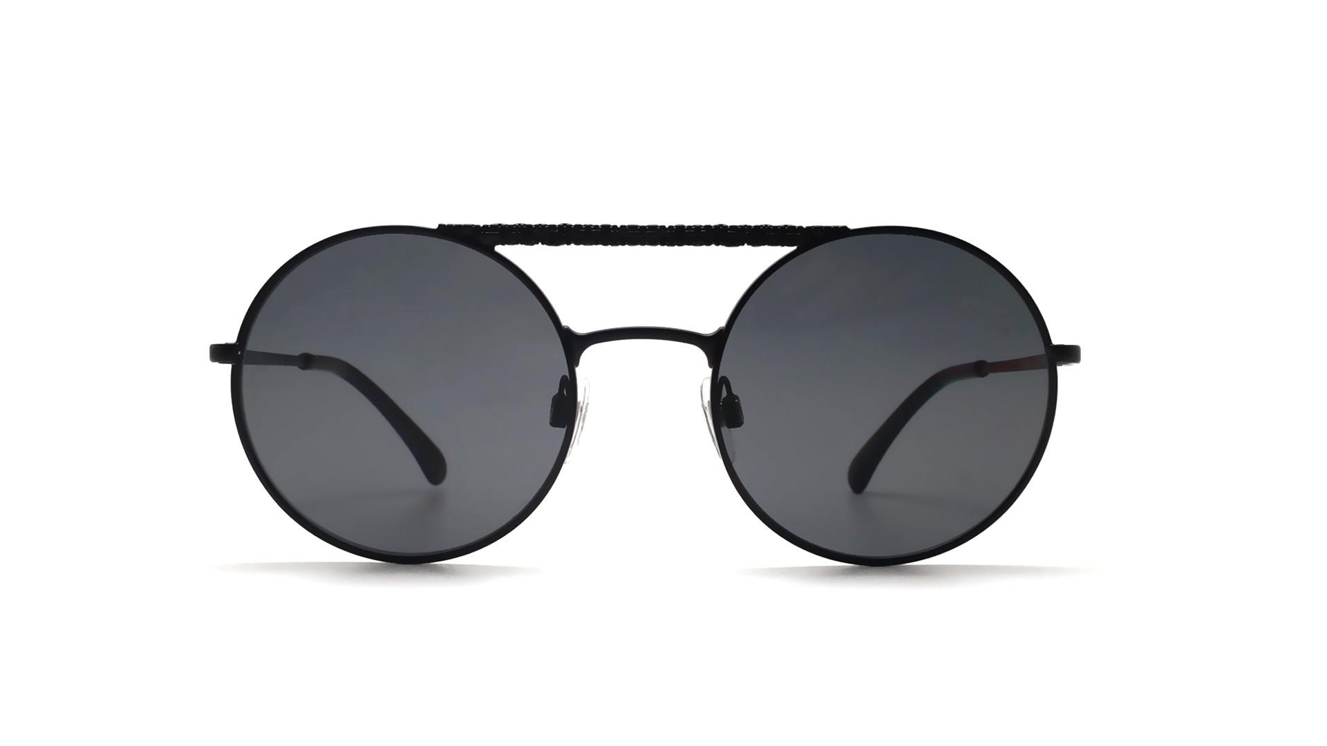 657cb6c8190ee Sunglasses Chanel CH4232 C101 T8 53-21 Black Mat Medium Polarized