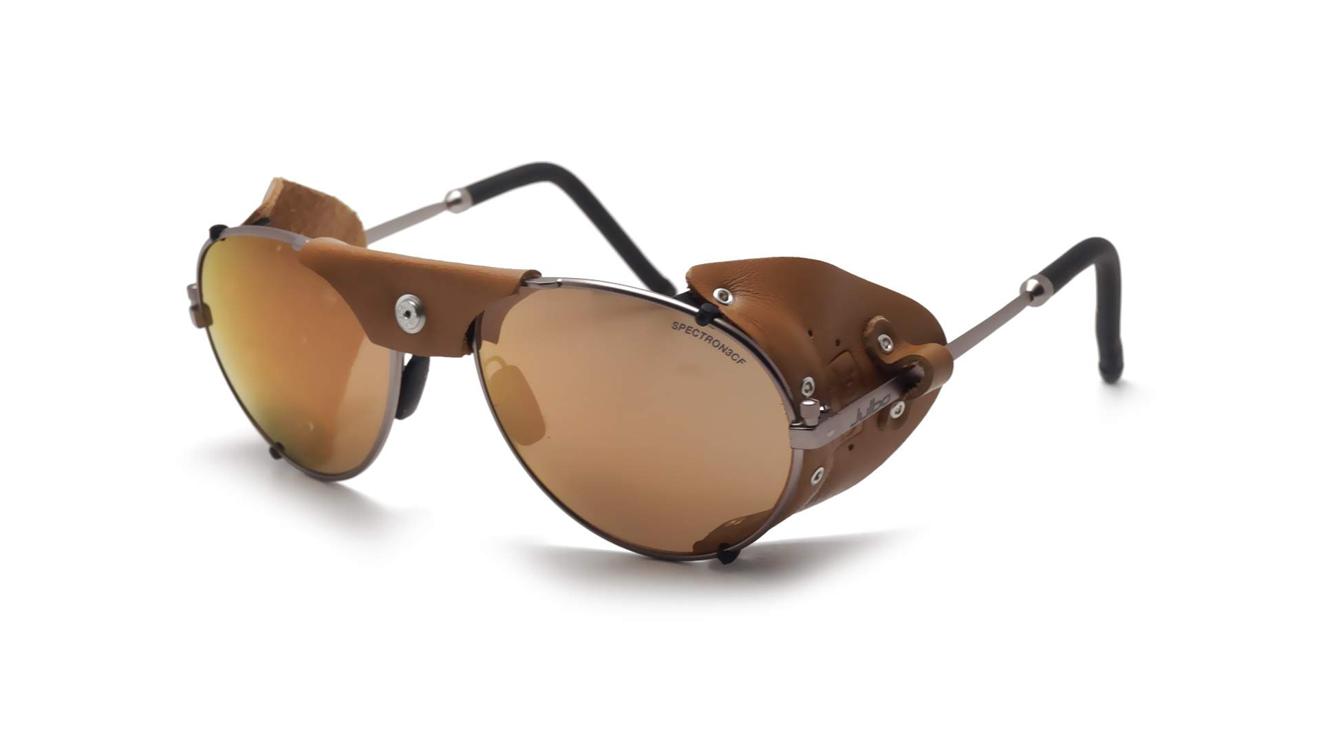 ccf45ac5b9 Sunglasses Julbo Cham Laiton Mountain heritage Brown Matte J020 1150 brown  leather shell 58-19 Large Mirror