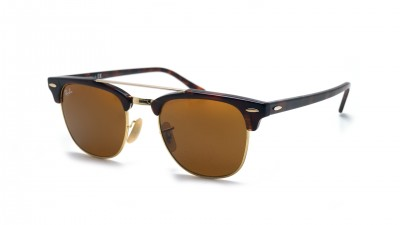 Ray-Ban Clubmaster Double Bridge Tortoise RB3816 990/33 51-21 92,50 €