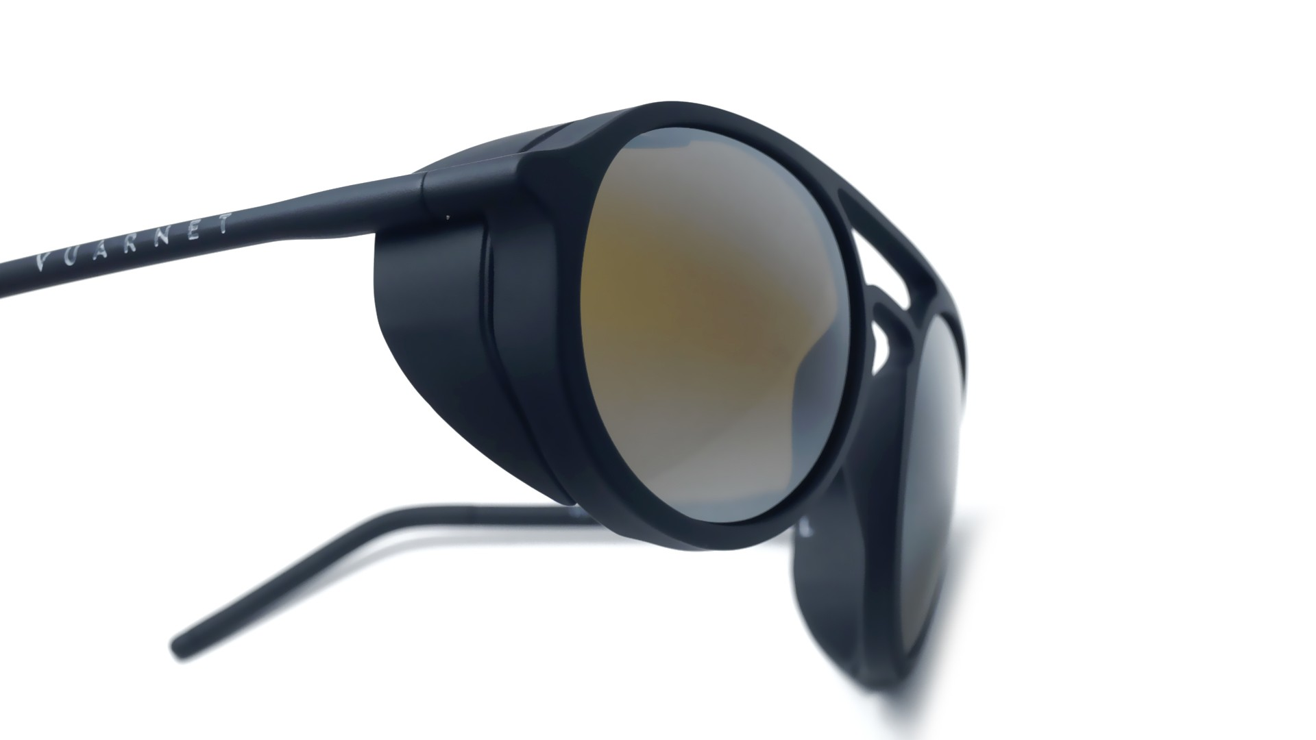 a0fb23043fa Sunglasses Vuarnet Ice Black Mat Skilynx VL1709 0001 7184 51-18 Large  Gradient Flash