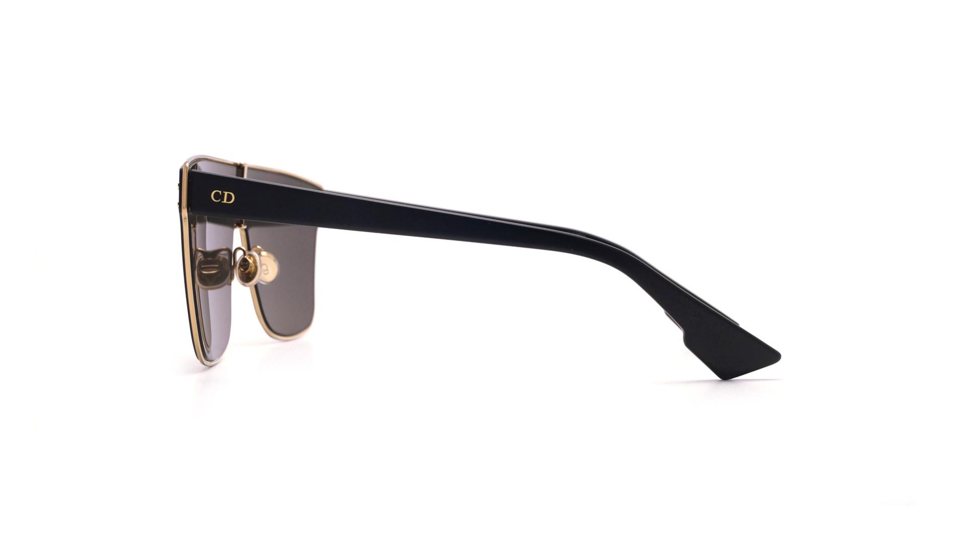 aa4883ab882f7 Sunglasses Dior Izon 1 Gold DIORIZON1 2M2QV 99-01 Large Flash