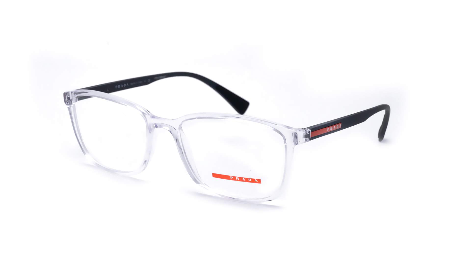 61cd2c360bf3 Eyeglasses Prada Linea Rossa PS04IV 2AZ1O1 55-18 Clear Medium