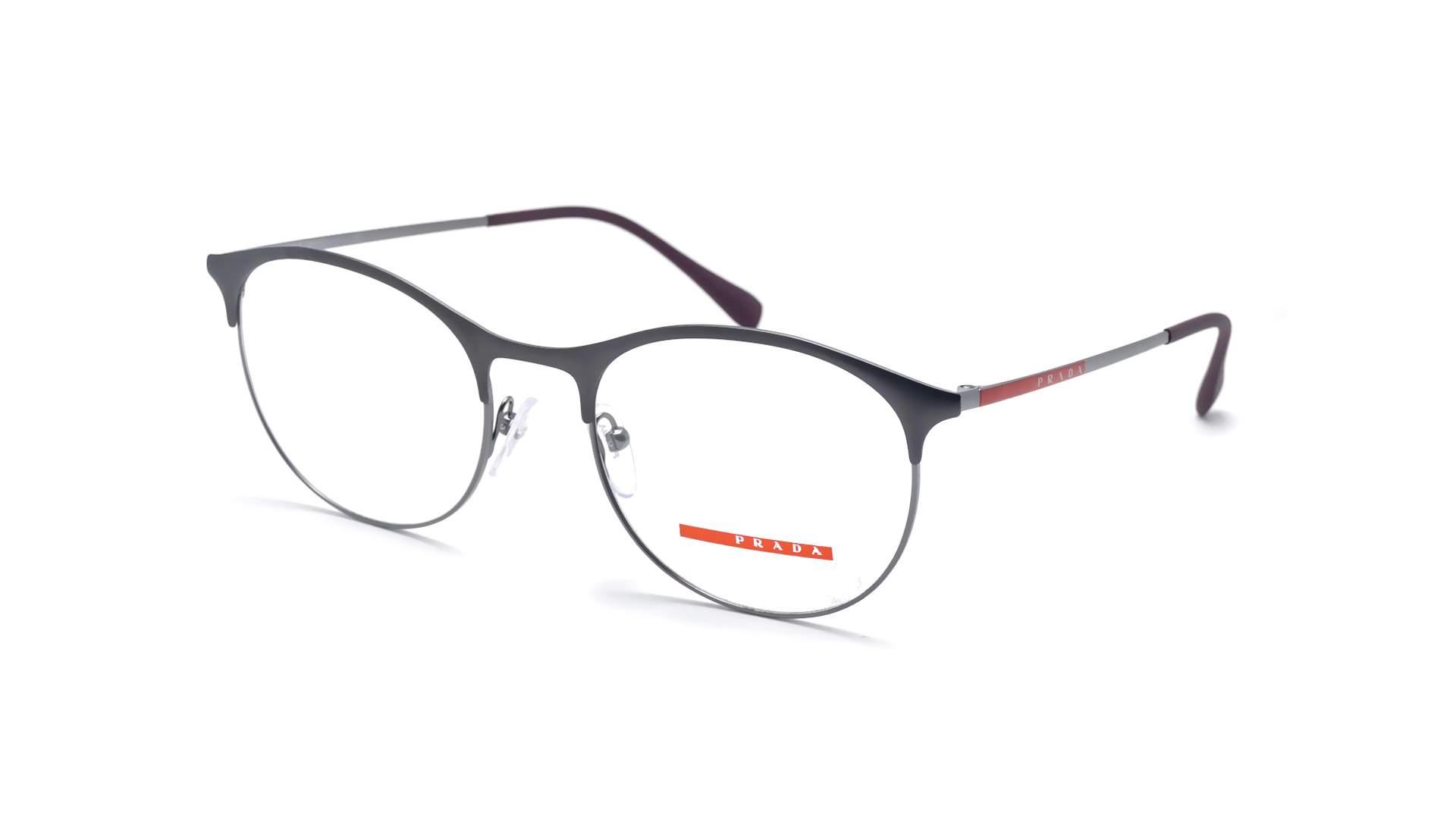 345ab729f89d3 Eyeglasses Prada Linea Rossa PS53IV VIX1O1 52-19 Grey Matte Large