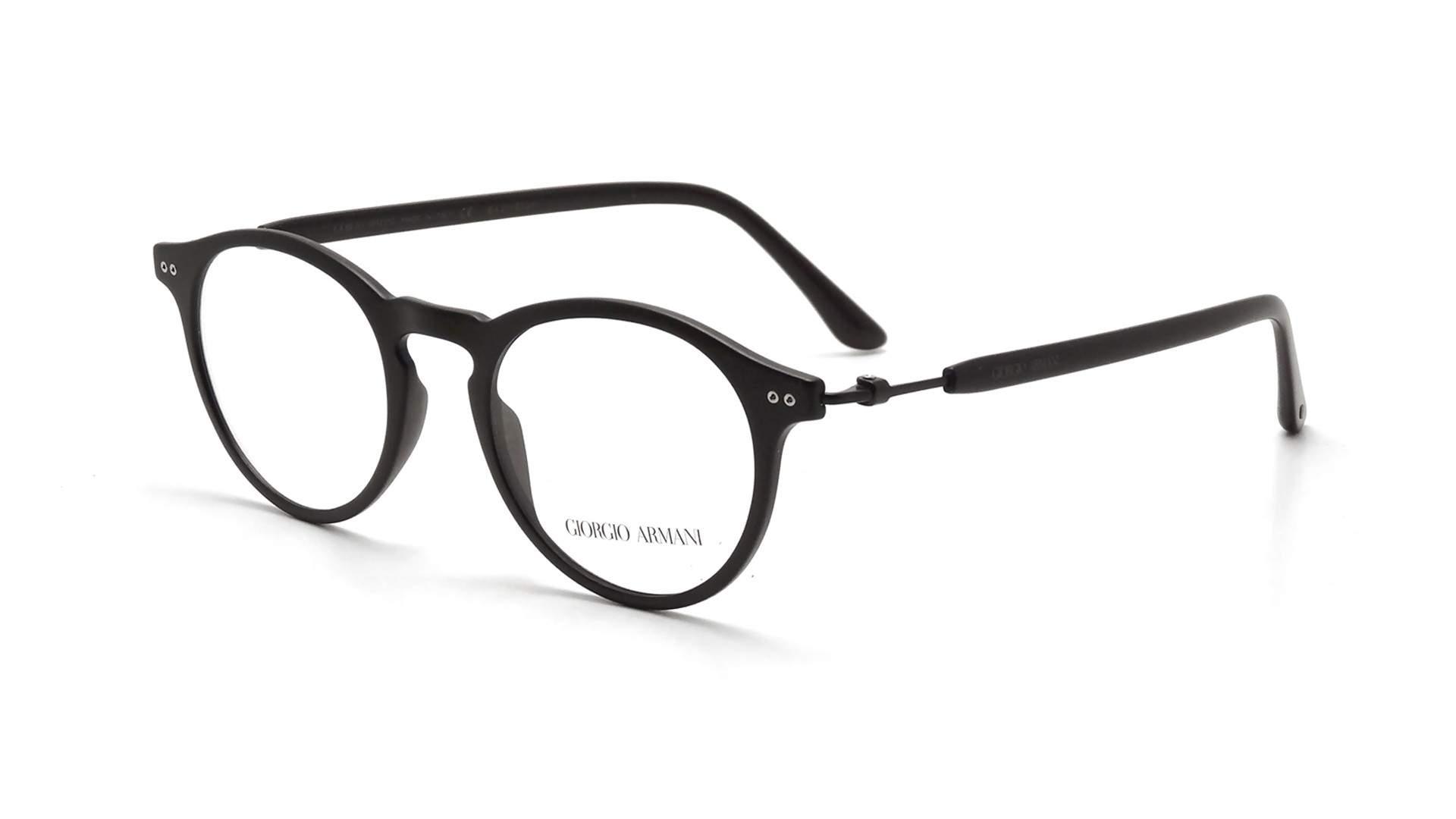 a6bedb51eff Lunettes de vue Giorgio Armani Frames Of Life Noir Mat AR7040 5042 48-19  Medium