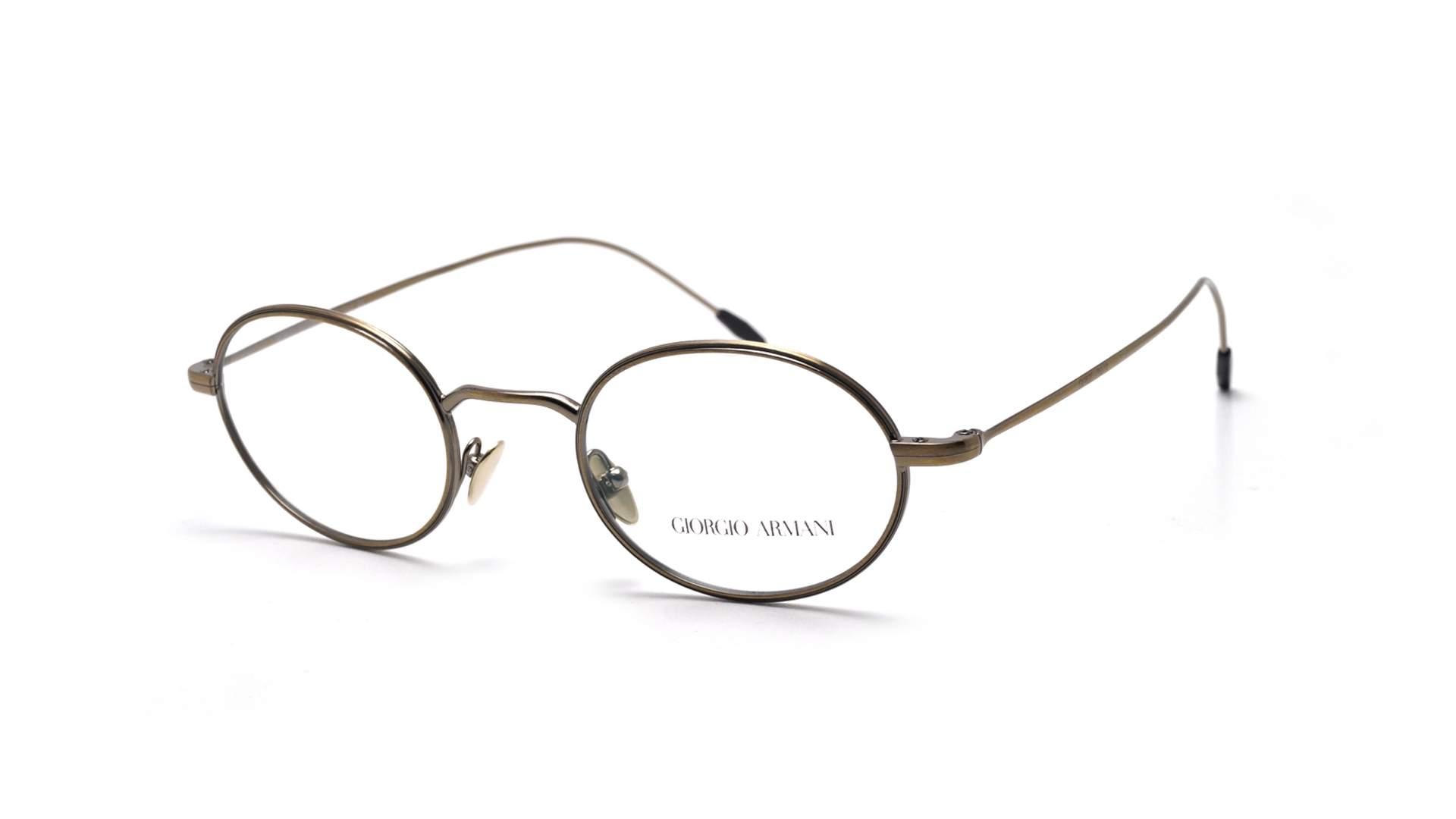 ccb58037426a Eyeglasses Giorgio Armani Frames Of Life Gold AR5076 3198 46-22 Small