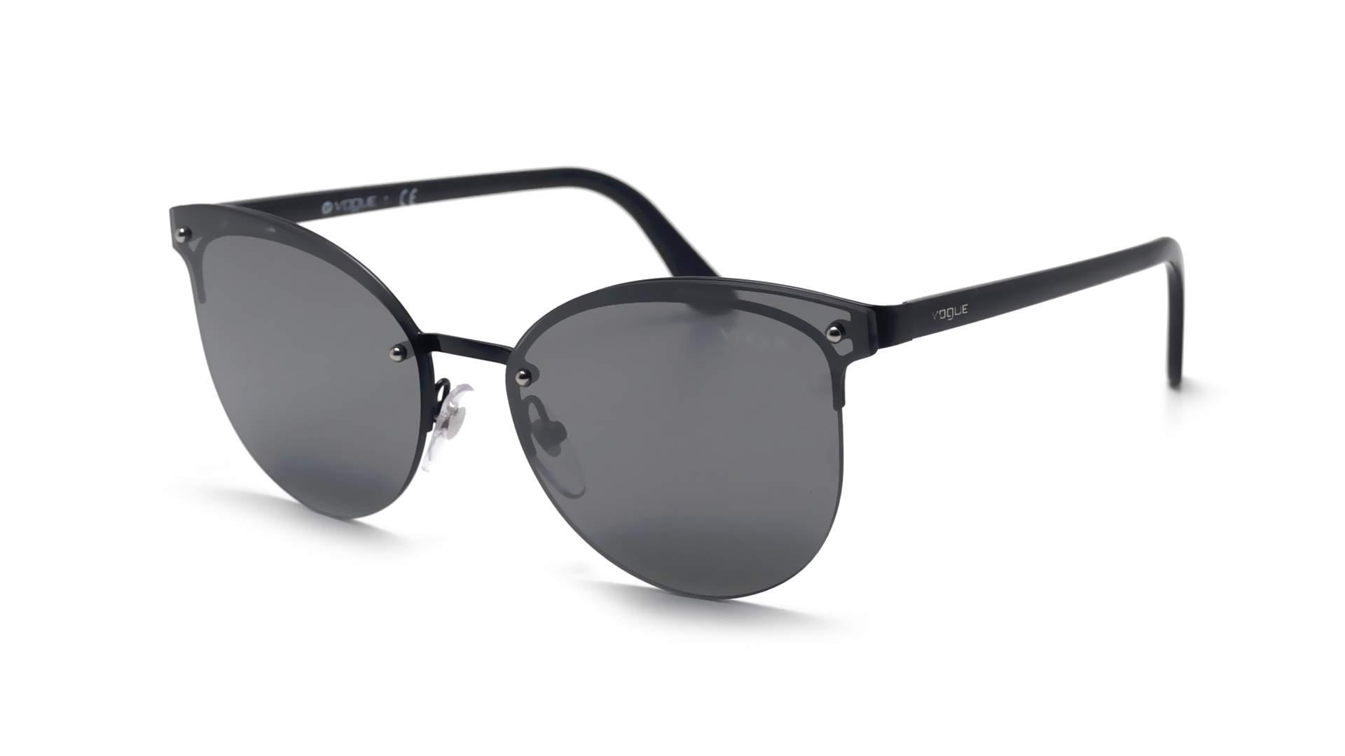bbd4fc7b94b Sunglasses Vogue Metallic beat Black VO4089S 352 6G 60-16 Large Mirror