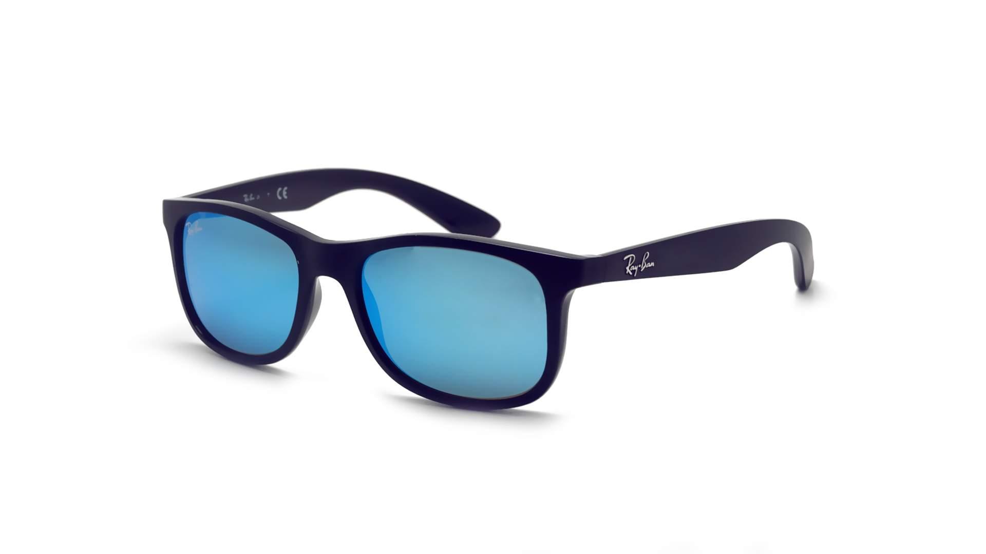 e998fba6d2d Sunglasses Ray-Ban RJ9062S 7013 55 48-16 Blue Matte Junior Mirror