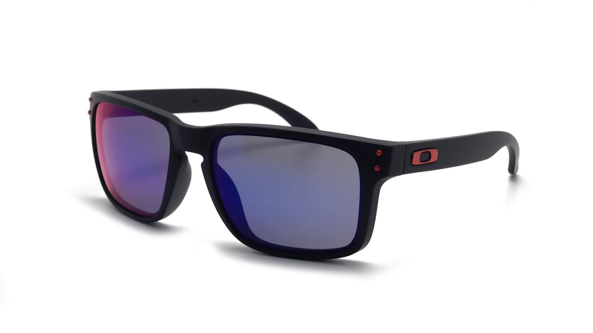 4395912314 Sunglasses Oakley Holbrook Black Matte Iridium OO9102 36 55-18 Medium Mirror
