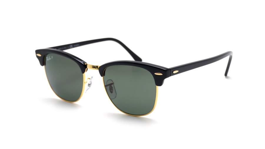 Ray Ban Clubmaster Black RB3016 90158 51 21 Polarized