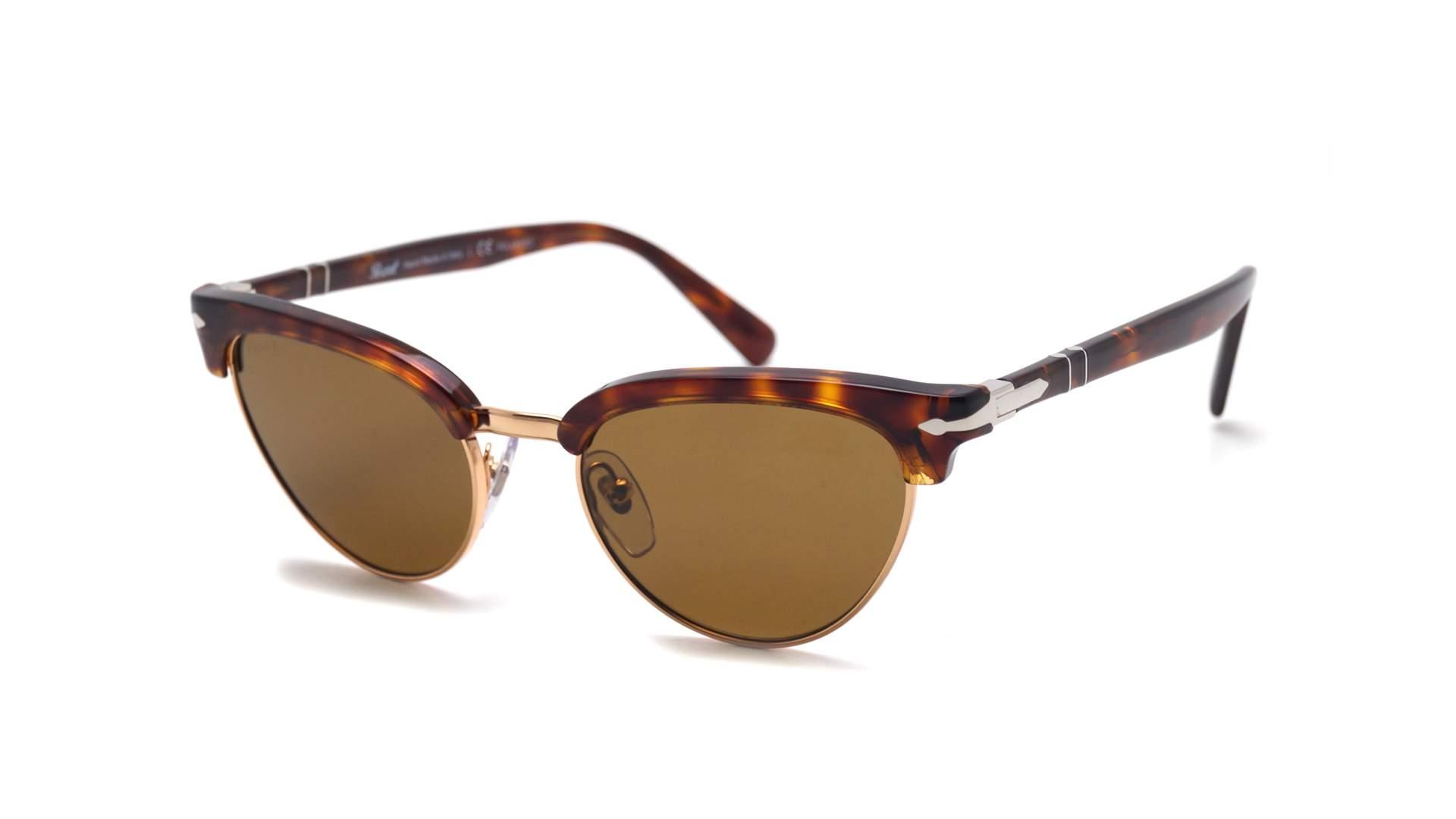 bae8591961 Sunglasses Persol Tailoring edition Havana Tortoise PO3198S 24 57 51-19  Medium Polarized