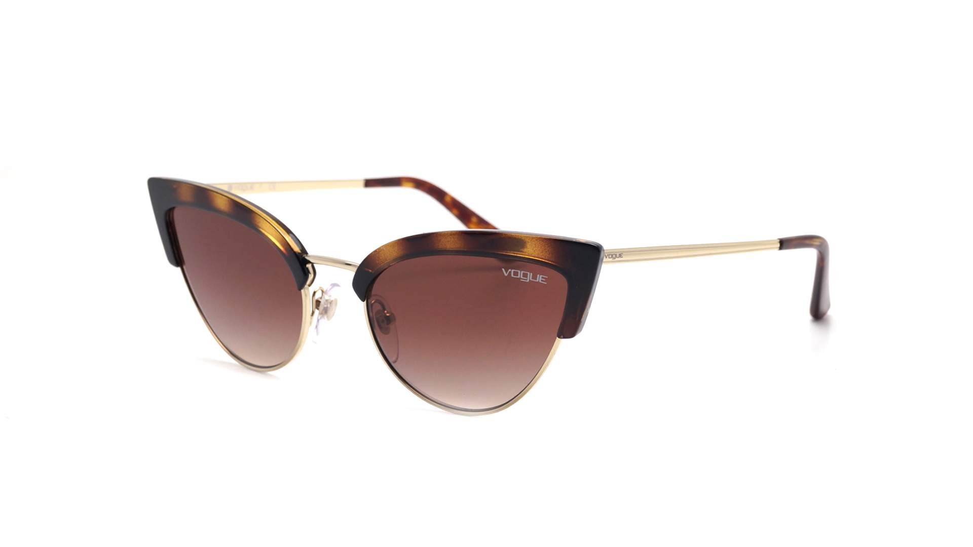 Lunettes de soleil Vogue Retro glam Écaille VO5212S W65613 55-19 Medium  Dégradés 752e0bad7816