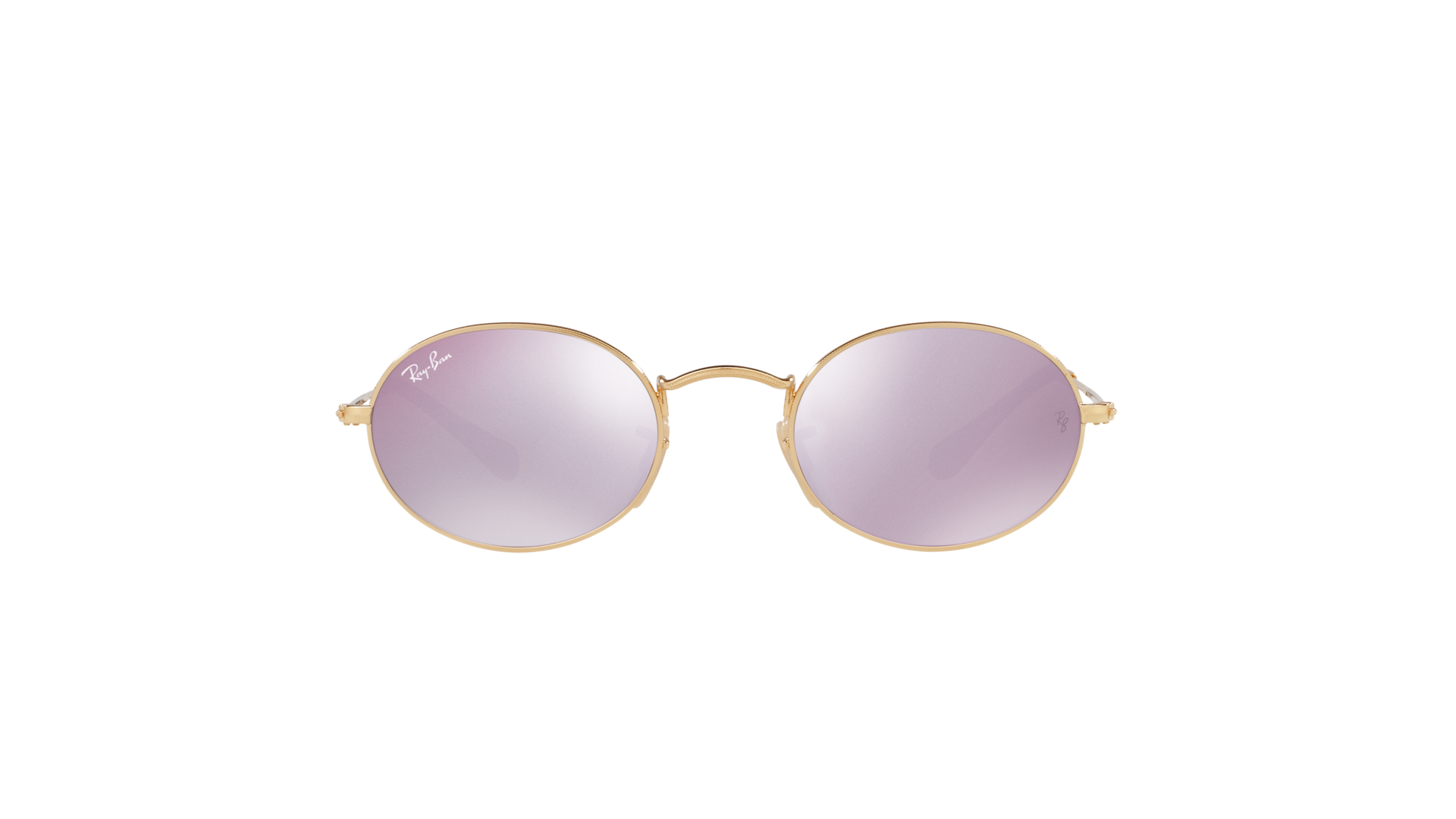 b42adf3527 Sunglasses Ray-Ban Oval Flat Lenses Gold RB3547N 001 8O 51-21 Medium Mirror