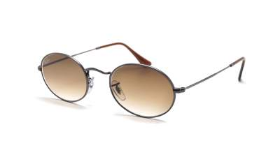 Ray-Ban Oval Flat Lenses Gris RB3547N 004/51 51-21 78,29 €