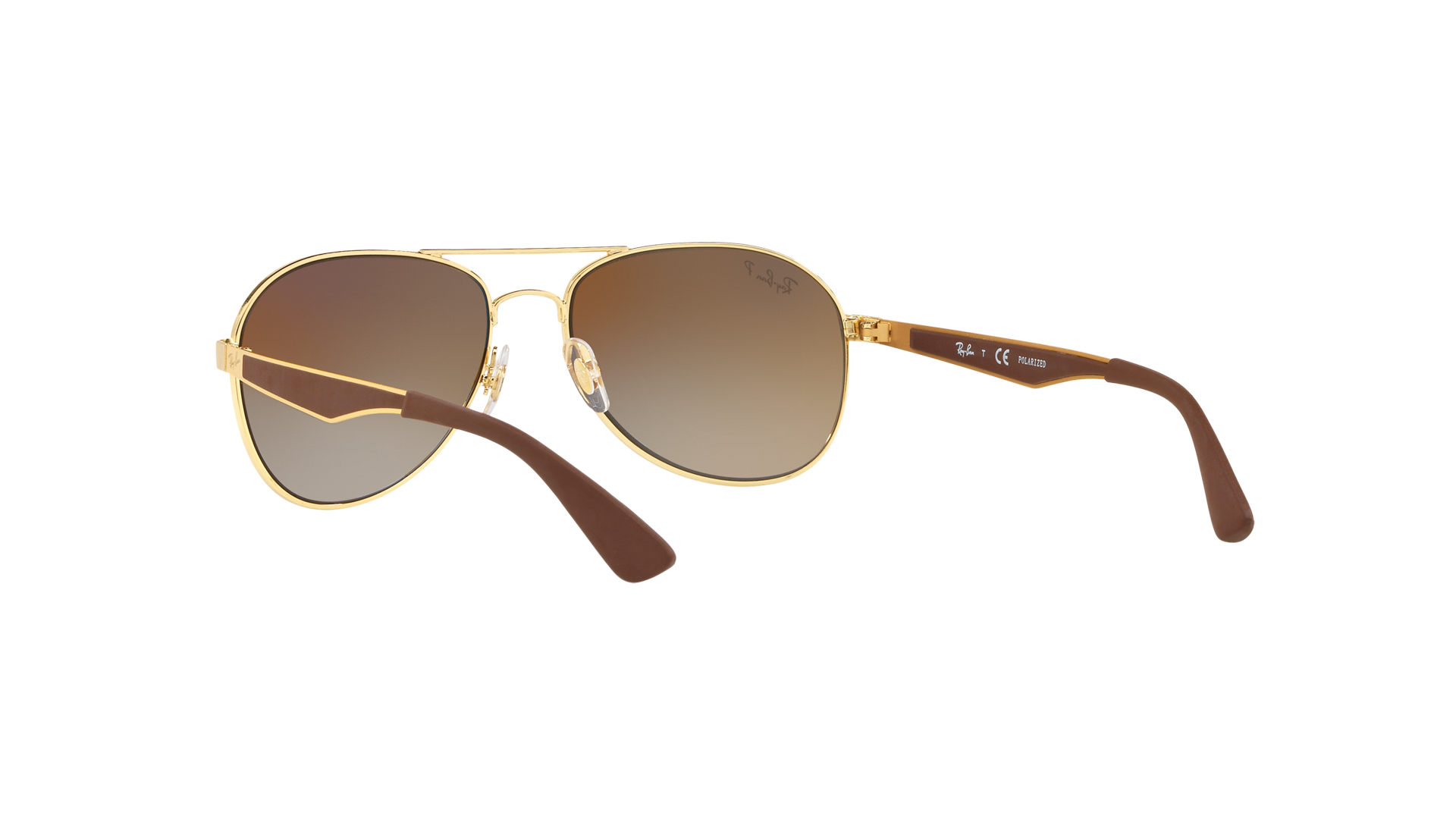 e41d29c7167 Sunglasses Ray-Ban Aviator large metal Gold RB3549 001 T5 58-16 Large  Polarized