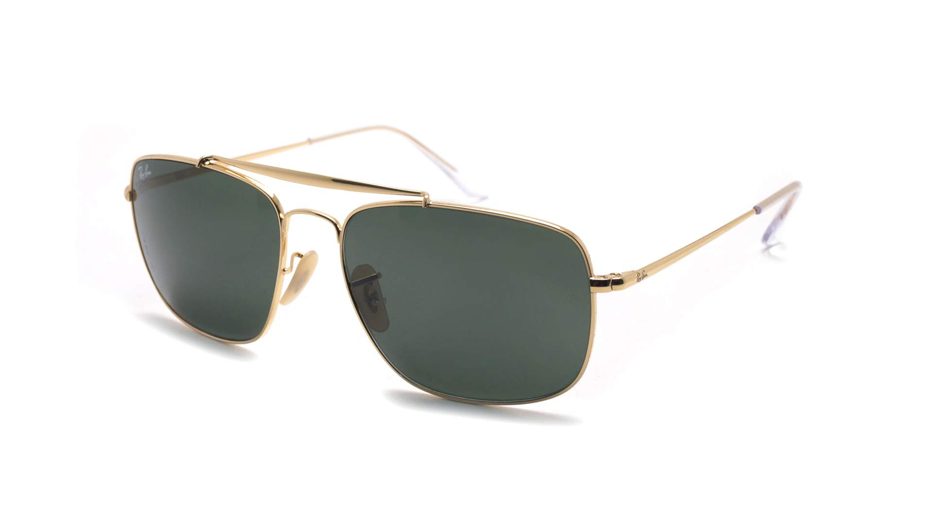 f17fe774e5 Sunglasses Ray-Ban The colonel Gold G-15 RB3560 001 61-17 Large