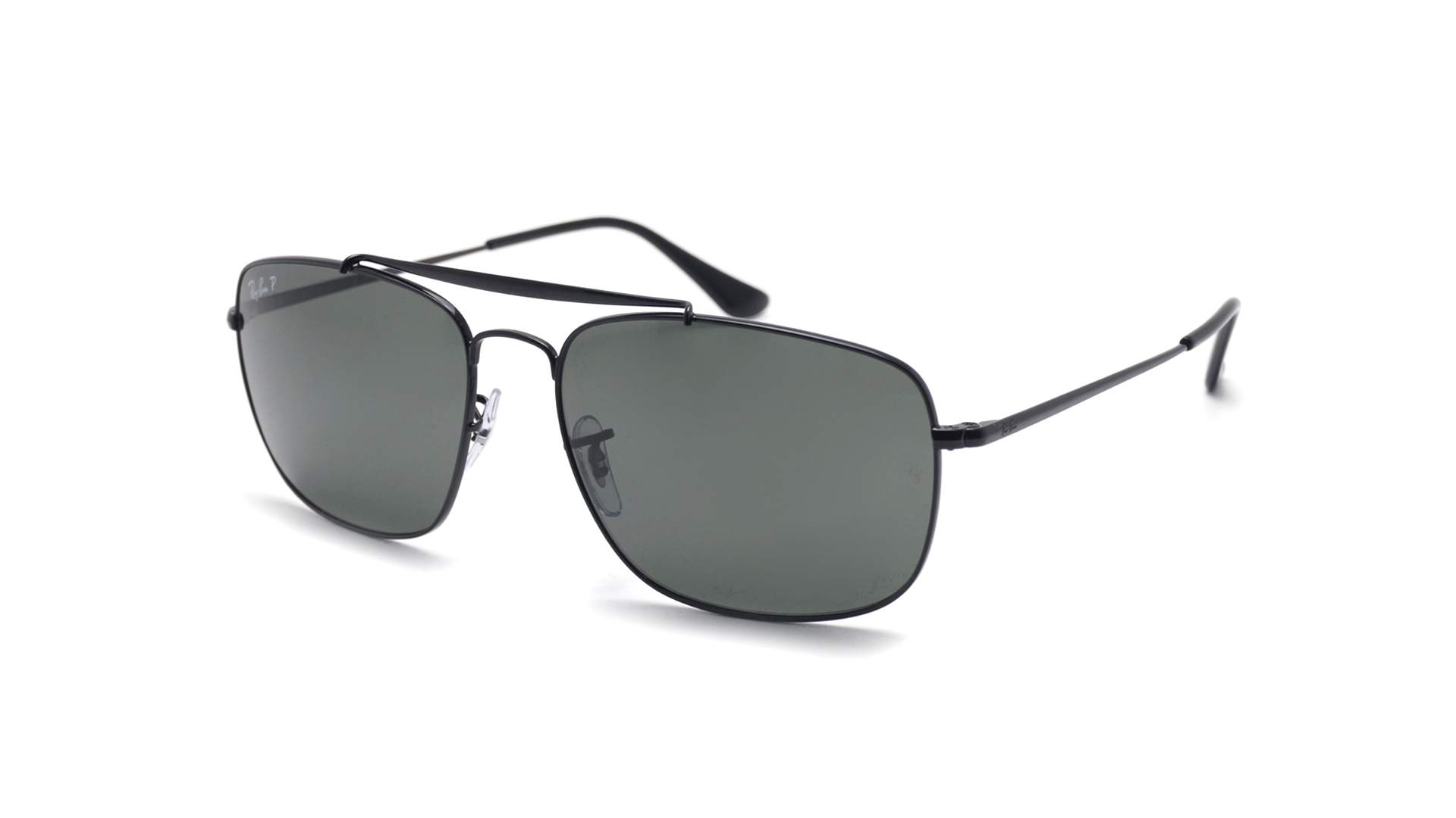 aff70f4bf4 Sunglasses Ray-Ban The colonel Black Matte RB3560 002 58 61-17 Large  Polarized