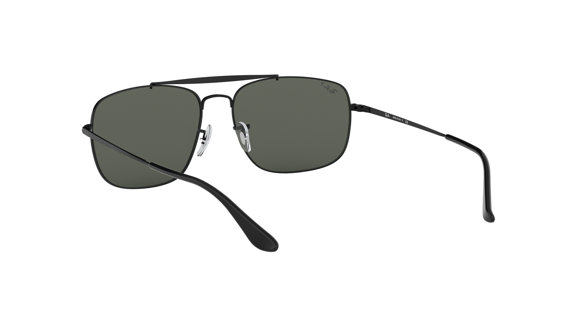59c2d4376f Sunglasses Ray-Ban The colonel Black Matte RB3560 002 58 61-17 Large  Polarized