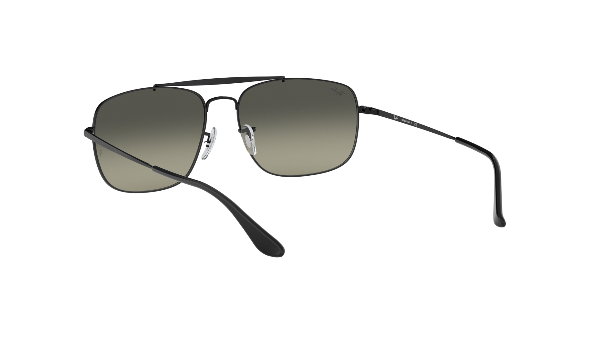 c0eacaf77d9957 Sunglasses Ray-Ban The colonel Black RB3560 002 71 61-17 Large Gradient
