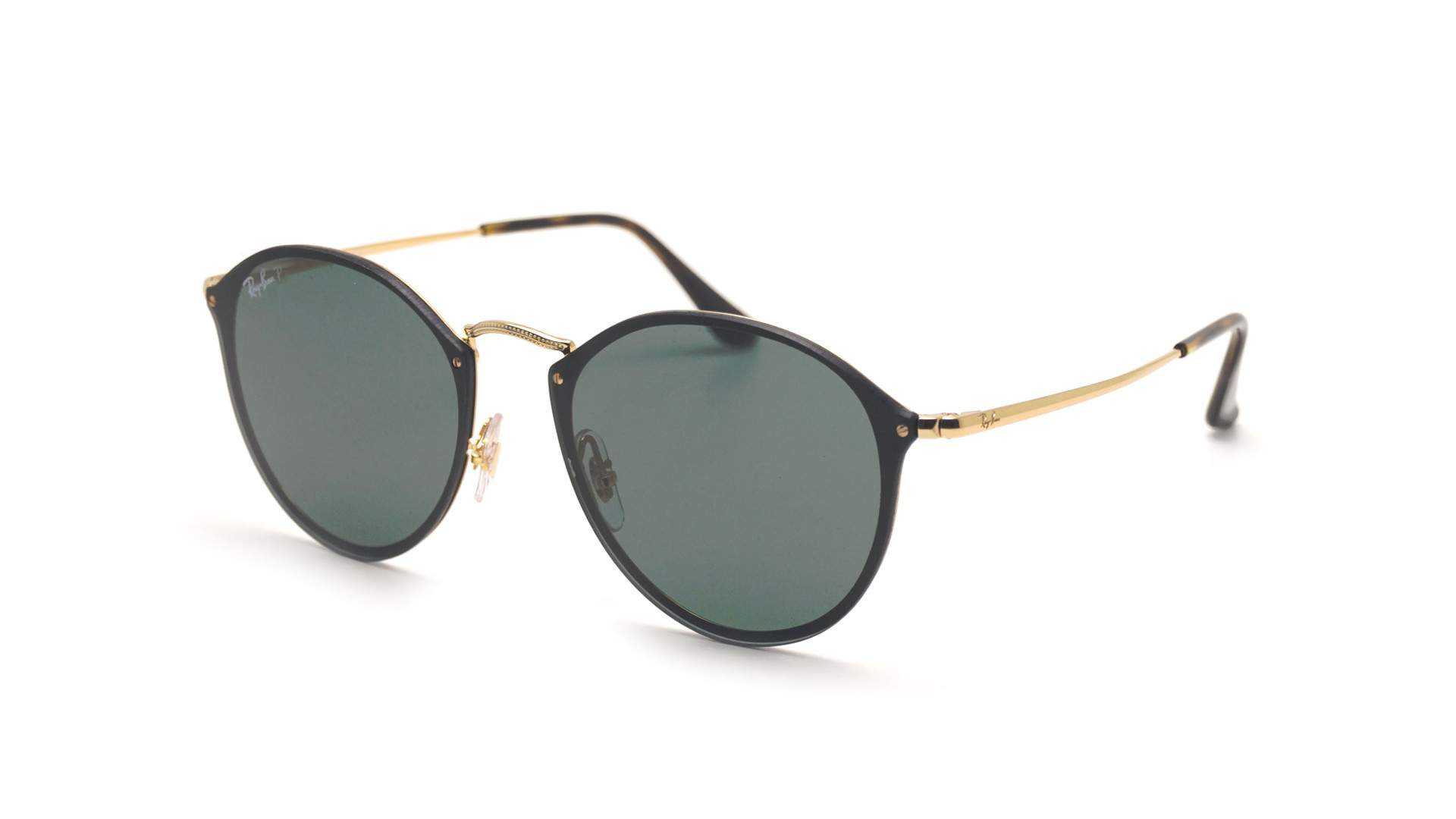 Sunglasses Ray-Ban Round Blaze Gold RB3574N 001 9A 59-14 Large Polarized c2cf23e4c0